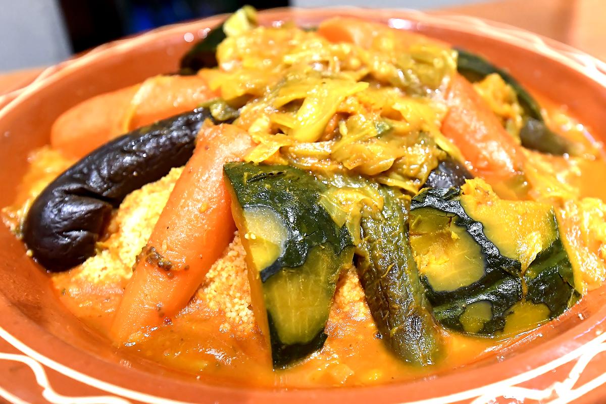 野菜のクスクス モロッコ家庭料理専門店 Le Marrakech(ル・マラケシュ)