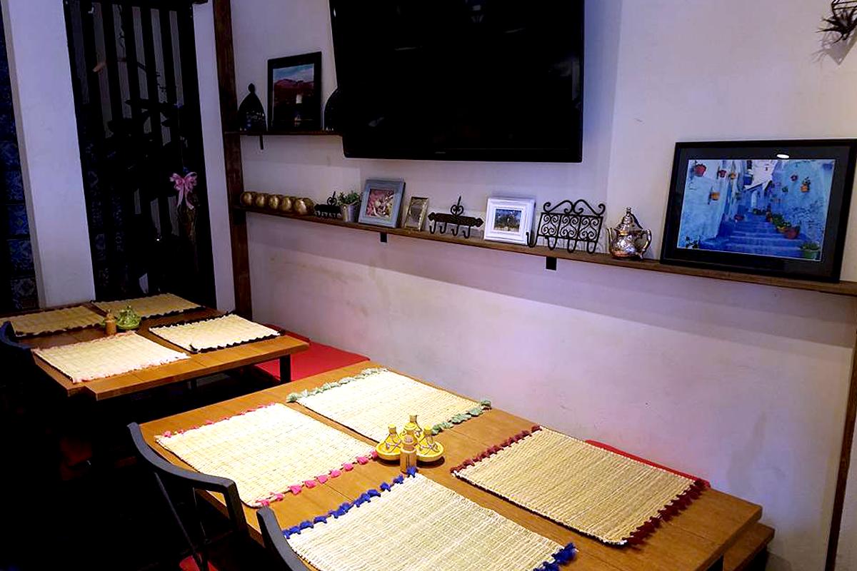 1F内観 テーブル席 モロッコ家庭料理専門店 Le Marrakech(ル・マラケシュ)