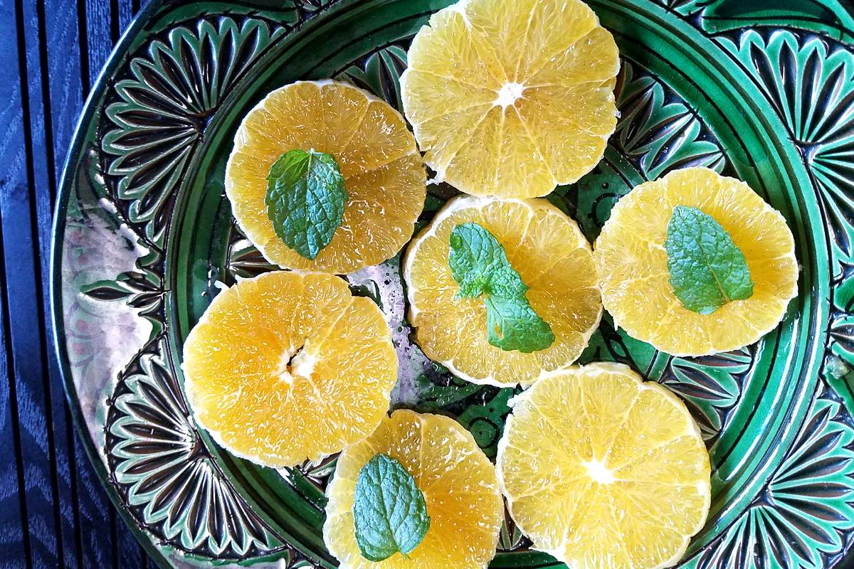オレンジサラダ モロッコ家庭料理専門店 Le Marrakech(ル・マラケシュ)