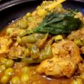 チキンと塩レモンのタジン モロッコ料理Le Marrakech(ル・マラケシュ)