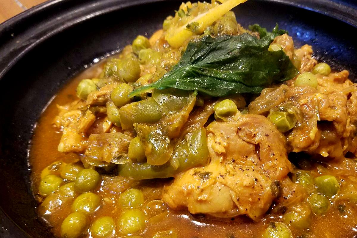 チキンと塩レモンのタジン モロッコ家庭料理専門店 Le Marrakech(ル・マラケシュ)