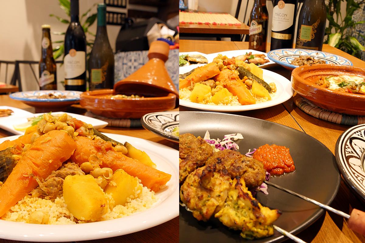 ディナーコース モロッコ家庭料理専門店 Le Marrakech(ル・マラケシュ)