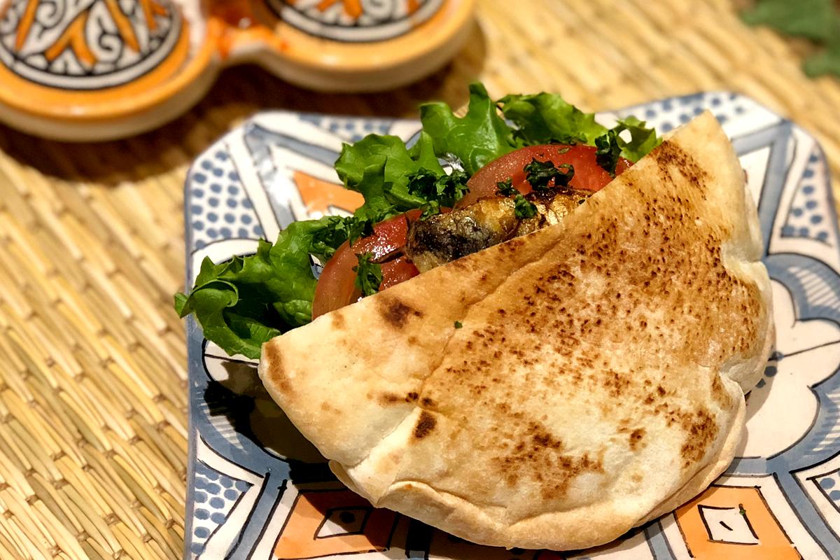 イワシサンド モロッコ料理Le Marrakech(ル・マラケシュ)