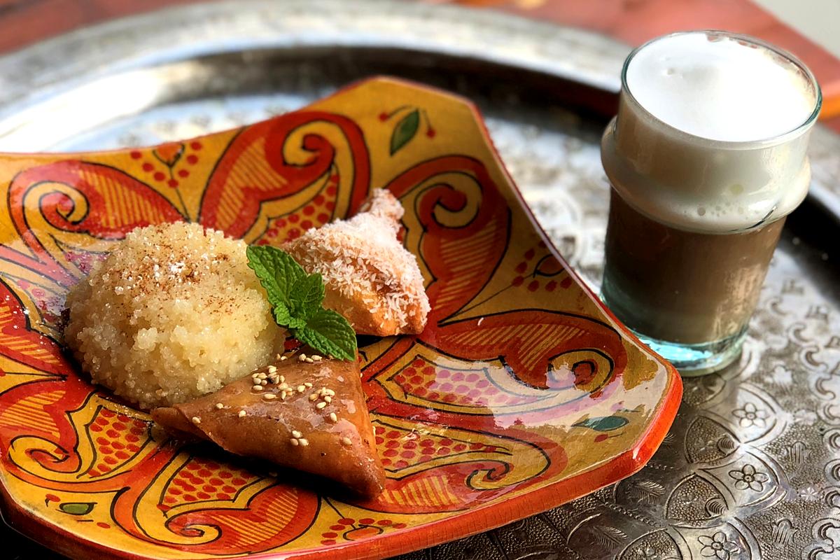モロッコお菓子3種盛り モロッコ料理Le Marrakech(ル・マラケシュ)