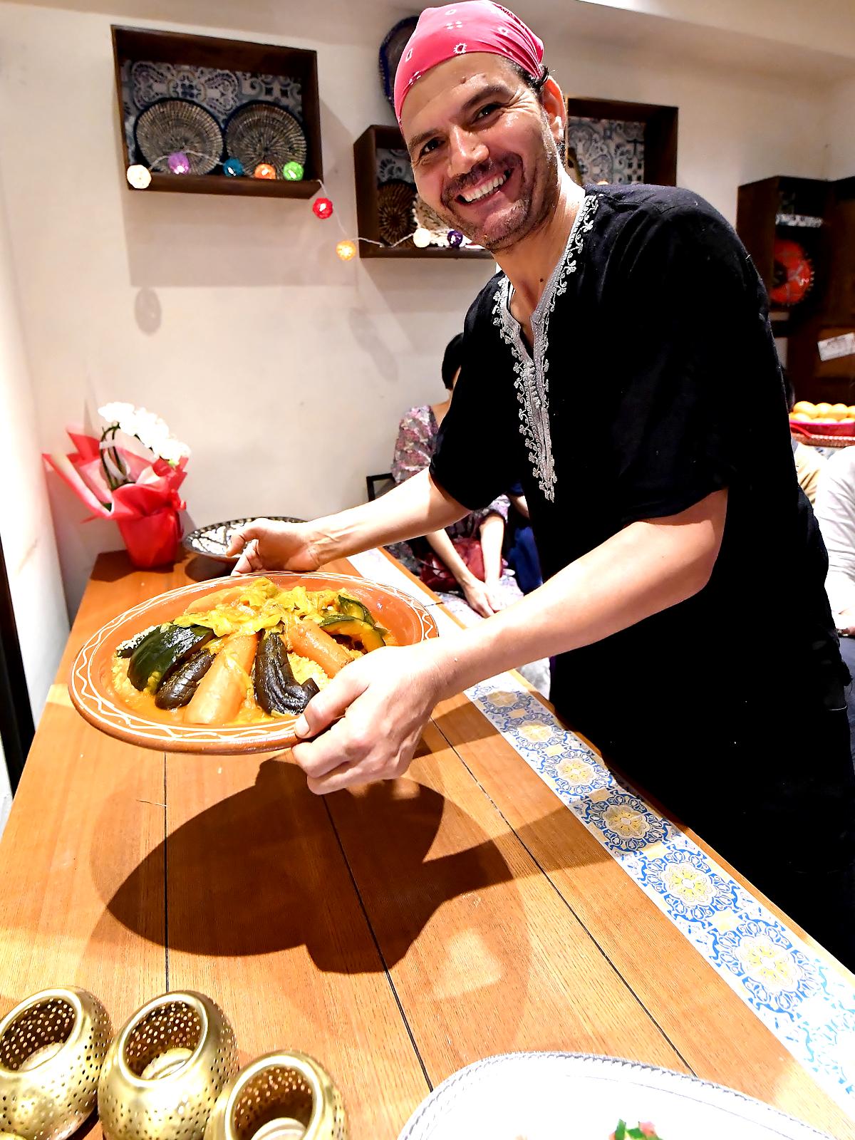 オーナーシェフ ムスタファ モロッコ家庭料理専門店 Le Marrakech(ル・マラケシュ)