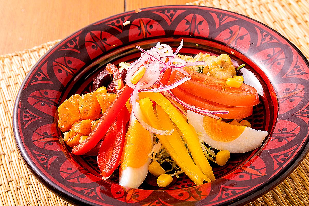モロッカンミックスサラダ モロッコ家庭料理専門店 Le Marrakech(ル・マラケシュ)