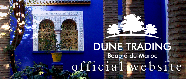 DUNE TRADING/デューントレーディング|モロッコ雑貨輸入販売・モロッココスメ輸入販売および商品開発(アルガンオイル・ダマスクローズウォーター・ティップケアオイル)・モロッコ文化交流イベント企画運営(モロッコ料理・モロッコ文化講師)