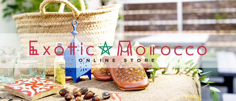 Exotic Morocco / エキゾチック モロッコ モロッコ雑貨・ファッションを中心とした通販サイト